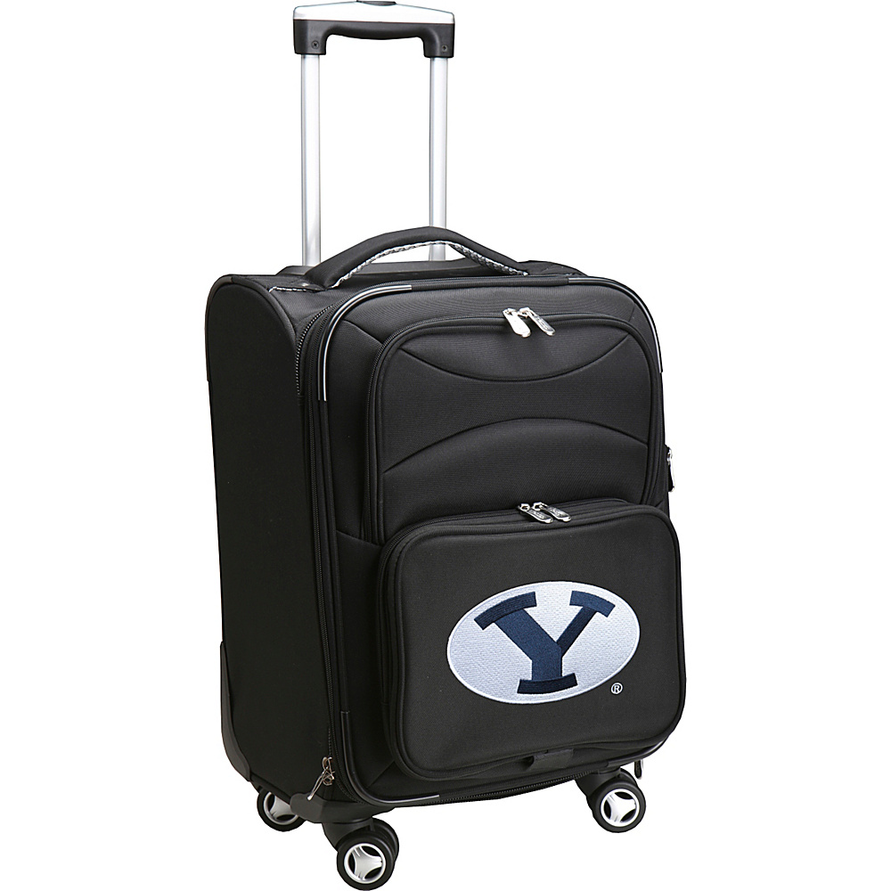 Denco Sports Luggage NCAA 20 Domestic Carry-On Spinner Brigham Young University Cougars - Denco Sports Luggage Softside Carry-On - Luggage, Softside Carry-On