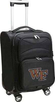 Denco Sports Luggage NCAA Wake Forest University 20 inch Domestic Carry-On Spinner Wake Forest University Demon Deacons - Denco Sports Luggage Softside Carry-On