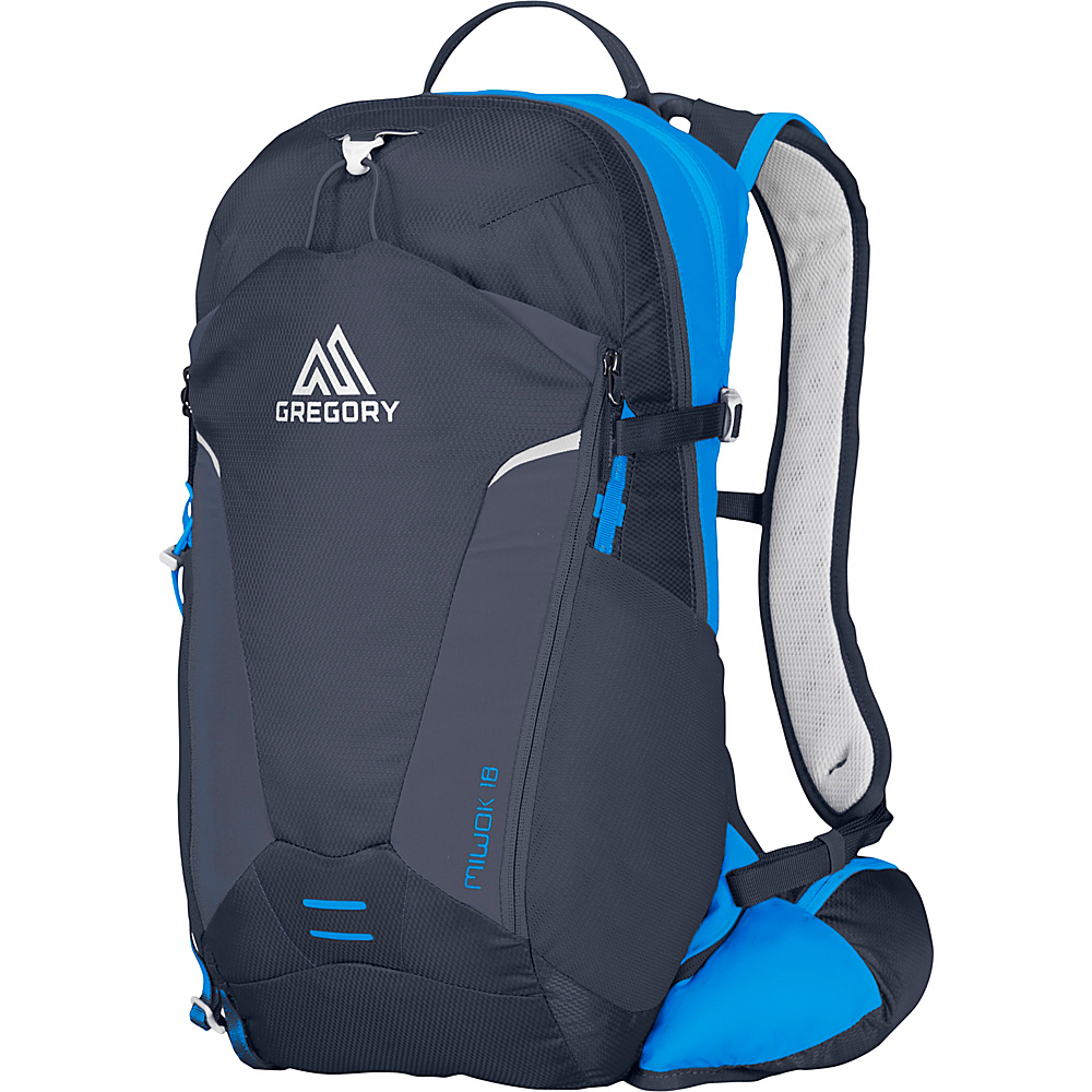 Gregory Miwok 18 Hiking Backpack Navy Blue Gregory Day Hiking Backpacks