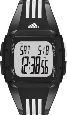 adidas watches Duramo Unisex Watch Black with Grey - adidas watches Watches