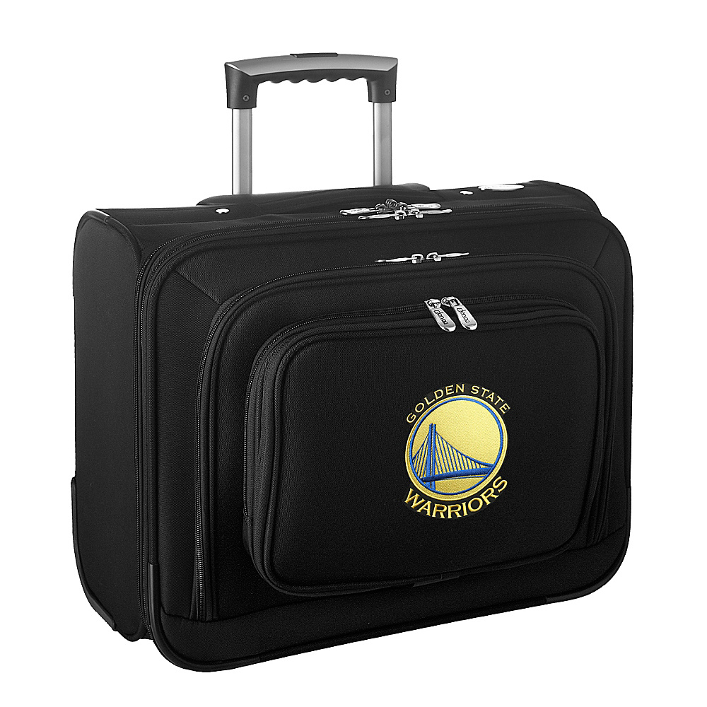 Denco Sports Luggage NBA 14 Laptop Overnighter Golden State Warriors - Denco Sports Luggage Wheeled Business Cases - Work Bags & Briefcases, Wheeled Business Cases