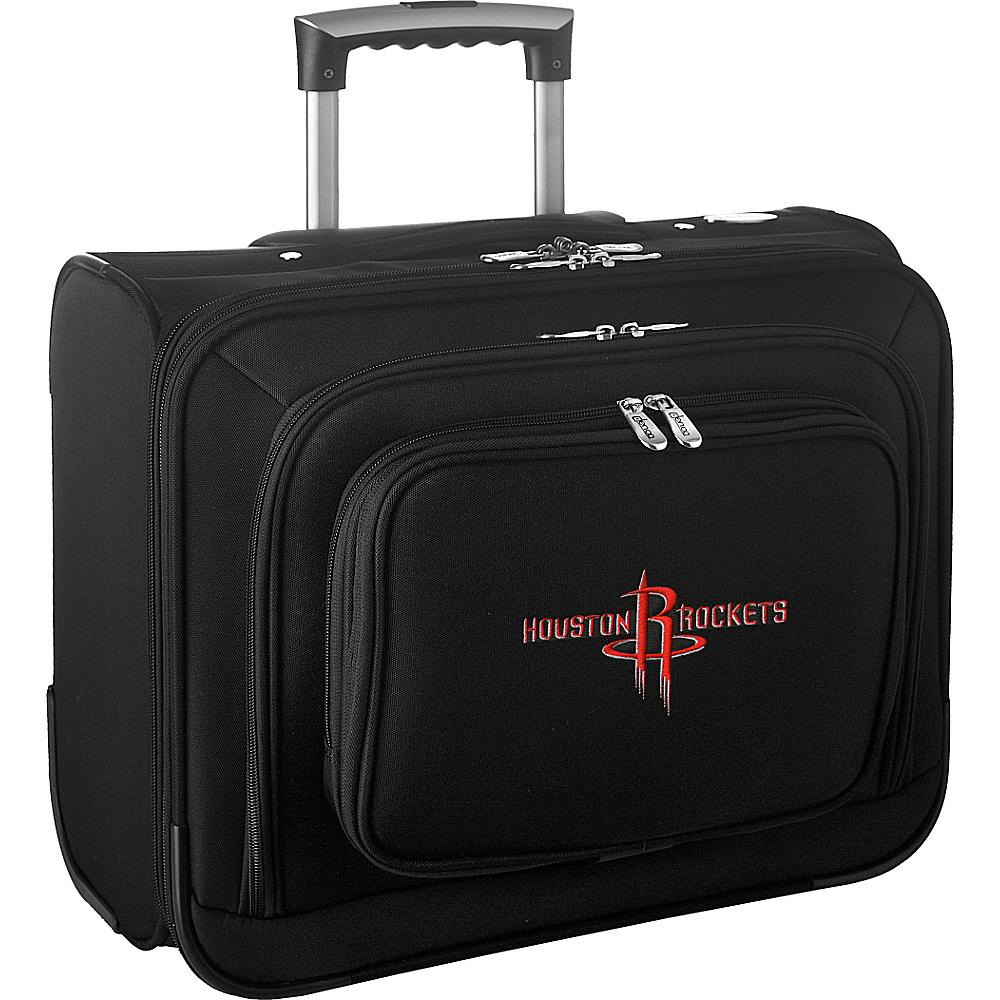 Denco Sports Luggage NBA 14 Laptop Overnighter Houston Rockets - Denco Sports Luggage Wheeled Business Cases - Work Bags & Briefcases, Wheeled Business Cases