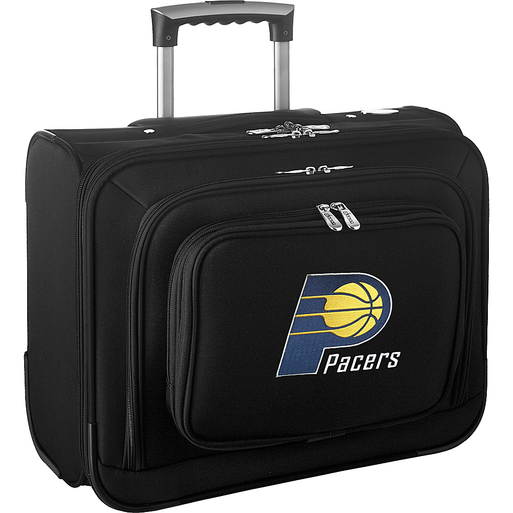 Denco Sports Luggage NBA 14 Laptop Overnighter Indiana Pacers - Denco Sports Luggage Wheeled Business Cases - Work Bags & Briefcases, Wheeled Business Cases