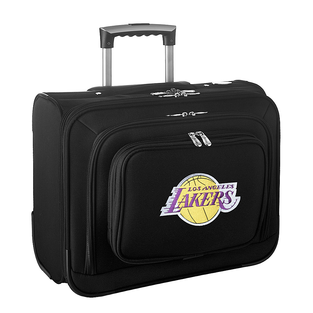 Denco Sports Luggage NBA 14 Laptop Overnighter Los Angeles Lakers - Denco Sports Luggage Wheeled Business Cases - Work Bags & Briefcases, Wheeled Business Cases