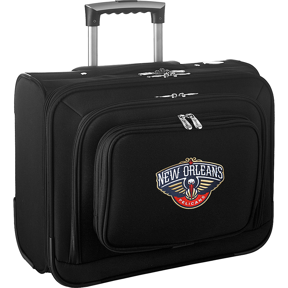 Denco Sports Luggage NBA 14 Laptop Overnighter New Orleans Pelicans - Denco Sports Luggage Wheeled Business Cases - Work Bags & Briefcases, Wheeled Business Cases