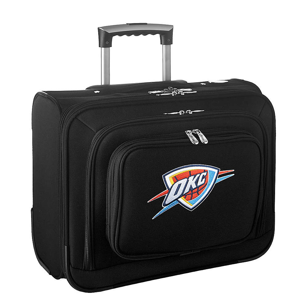Denco Sports Luggage NBA 14 Laptop Overnighter Oklahoma City Thunder - Denco Sports Luggage Wheeled Business Cases - Work Bags & Briefcases, Wheeled Business Cases