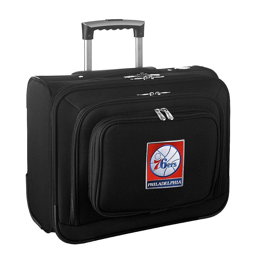 Denco Sports Luggage NBA 14 Laptop Overnighter Philadelphia 76ers - Denco Sports Luggage Wheeled Business Cases - Work Bags & Briefcases, Wheeled Business Cases