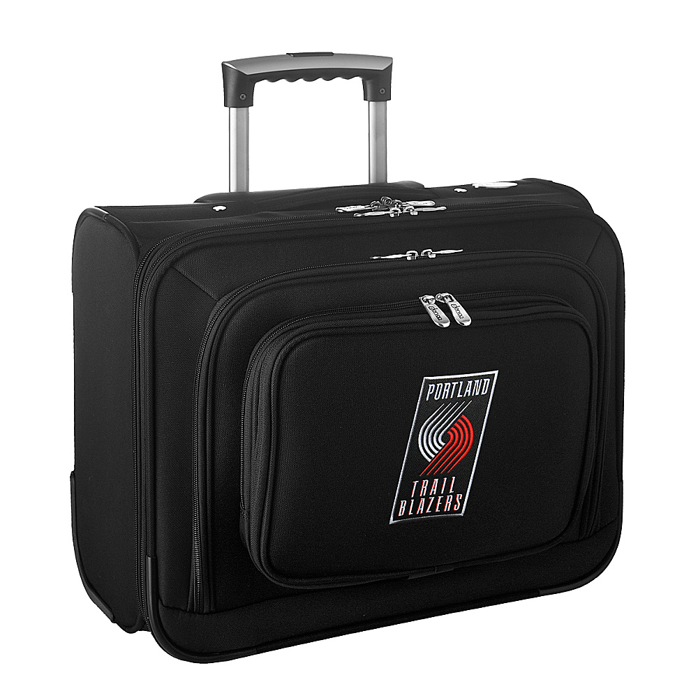 Denco Sports Luggage NBA 14 Laptop Overnighter Portland Trail Blazers - Denco Sports Luggage Wheeled Business Cases - Work Bags & Briefcases, Wheeled Business Cases