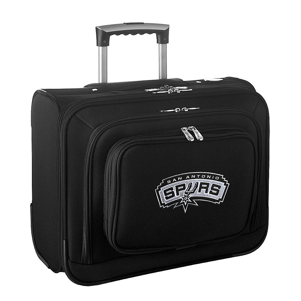 Denco Sports Luggage NBA 14 Laptop Overnighter San Antonio Spurs - Denco Sports Luggage Wheeled Business Cases - Work Bags & Briefcases, Wheeled Business Cases