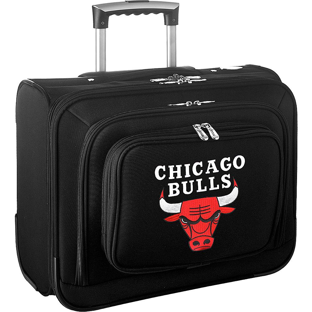 Denco Sports Luggage NBA 14 Laptop Overnighter Chicago Bulls - Denco Sports Luggage Wheeled Business Cases - Work Bags & Briefcases, Wheeled Business Cases