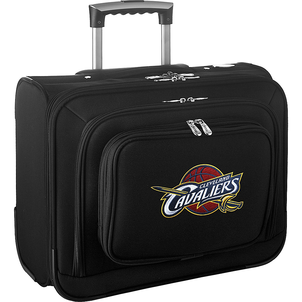 Denco Sports Luggage NBA 14 Laptop Overnighter Cleveland Cavaliers - Denco Sports Luggage Wheeled Business Cases - Work Bags & Briefcases, Wheeled Business Cases