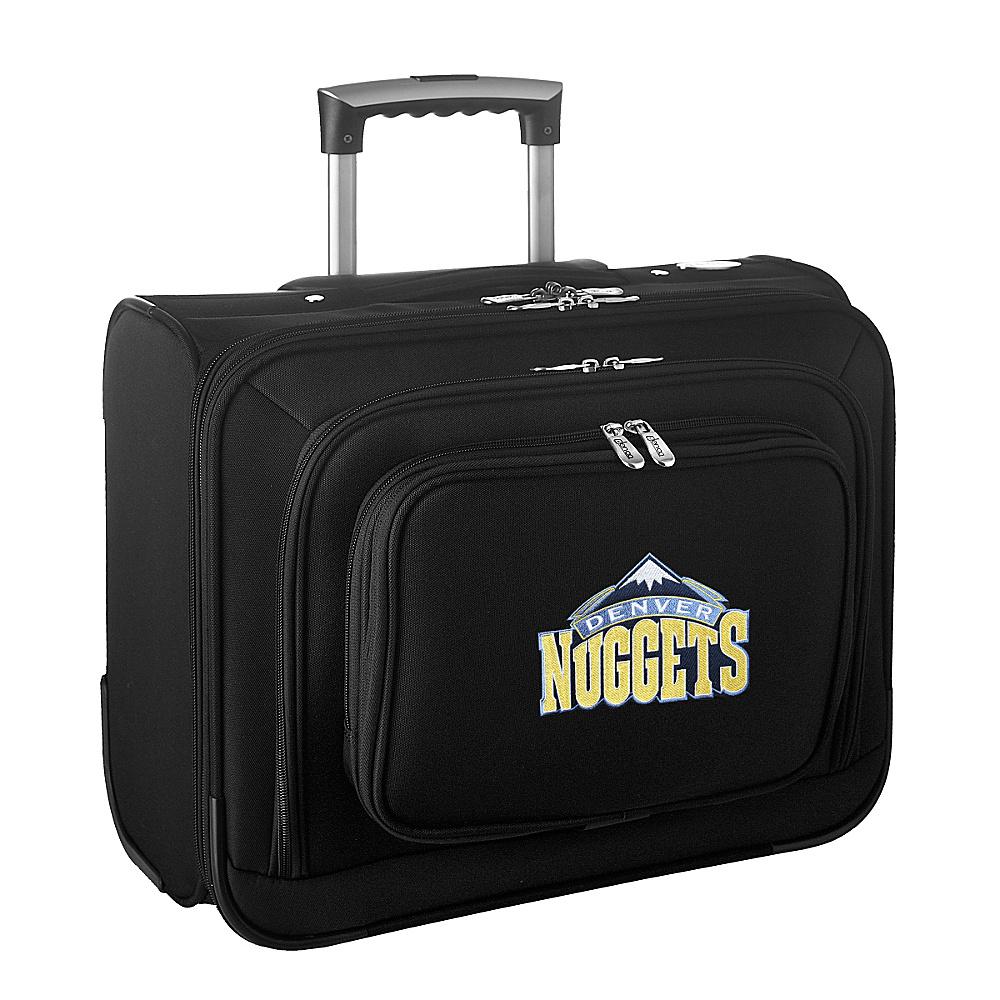 Denco Sports Luggage NBA 14 Laptop Overnighter Denver Nuggets - Denco Sports Luggage Wheeled Business Cases - Work Bags & Briefcases, Wheeled Business Cases