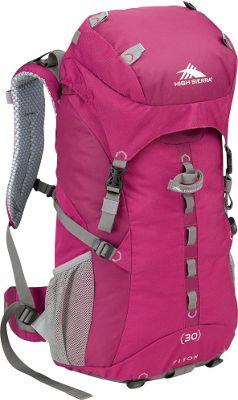 High Sierra Women's Piton 30 Boysenberry/Boysenberry/Ash - High Sierra Day Hiking Backpacks