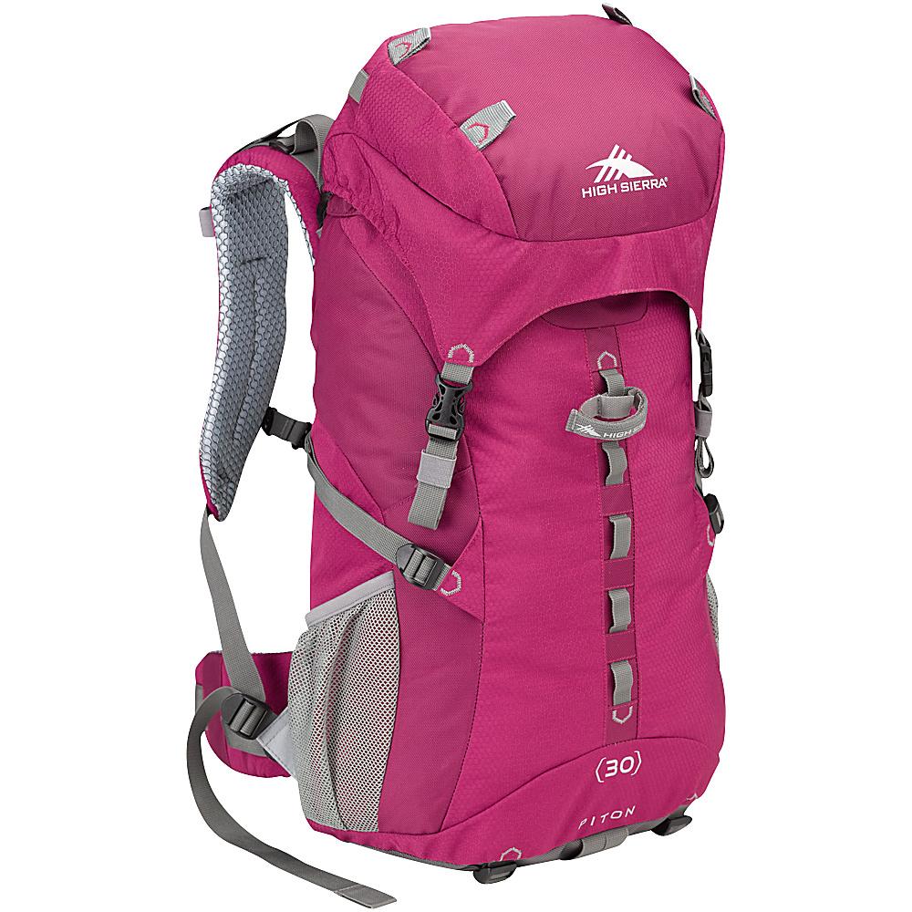 High Sierra Women s Piton 30 Boysenberry Boysenberry Ash High Sierra Day Hiking Backpacks