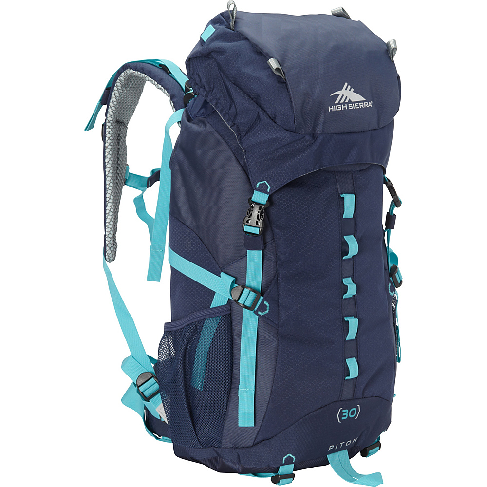High Sierra Women's Piton 30 True Navy/True Navy/Tropic Teal - High Sierra Day Hiking Backpacks