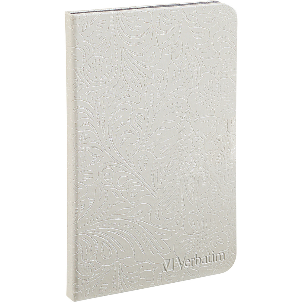 Verbatim Folio Case for Kindle Fire HD 8.9in Pearl White Verbatim Electronic Cases