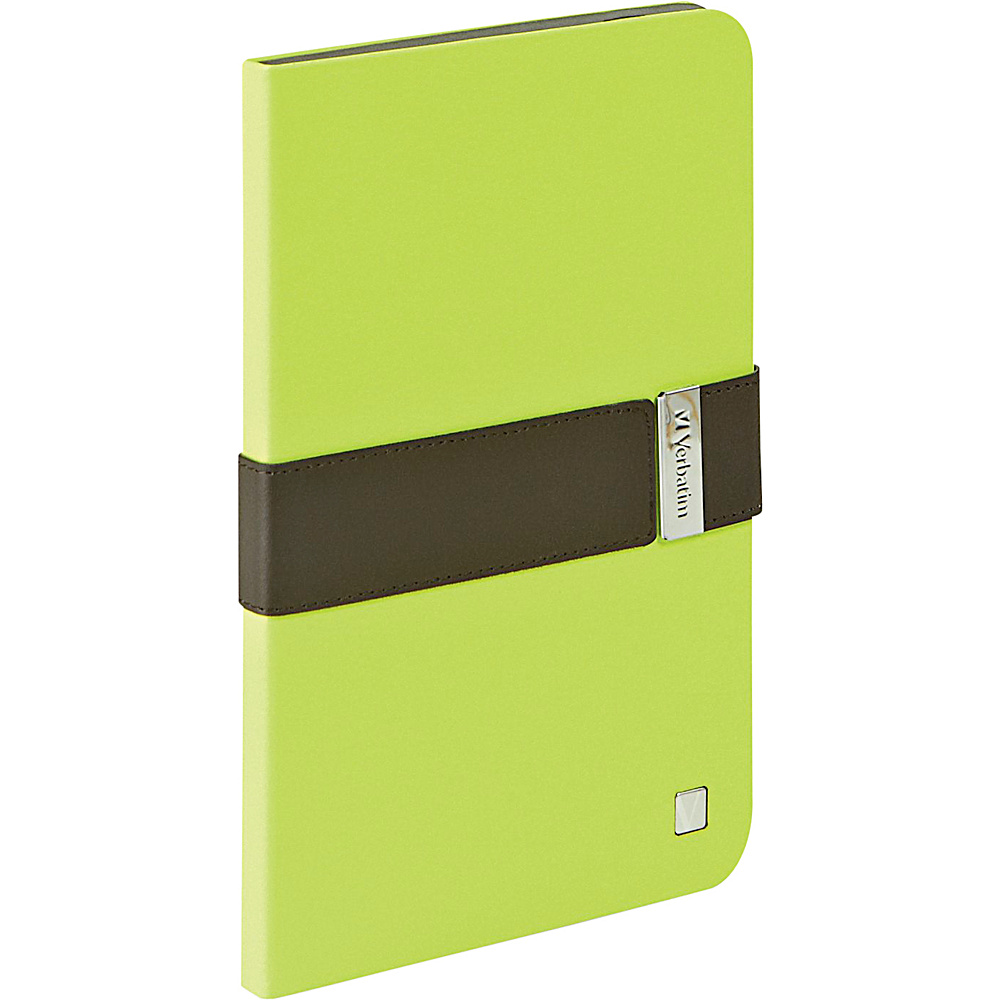 Verbatim Folio Signature for iPad Mini and iPad mini with Retina Display Green Mocha Verbatim Electronic Cases