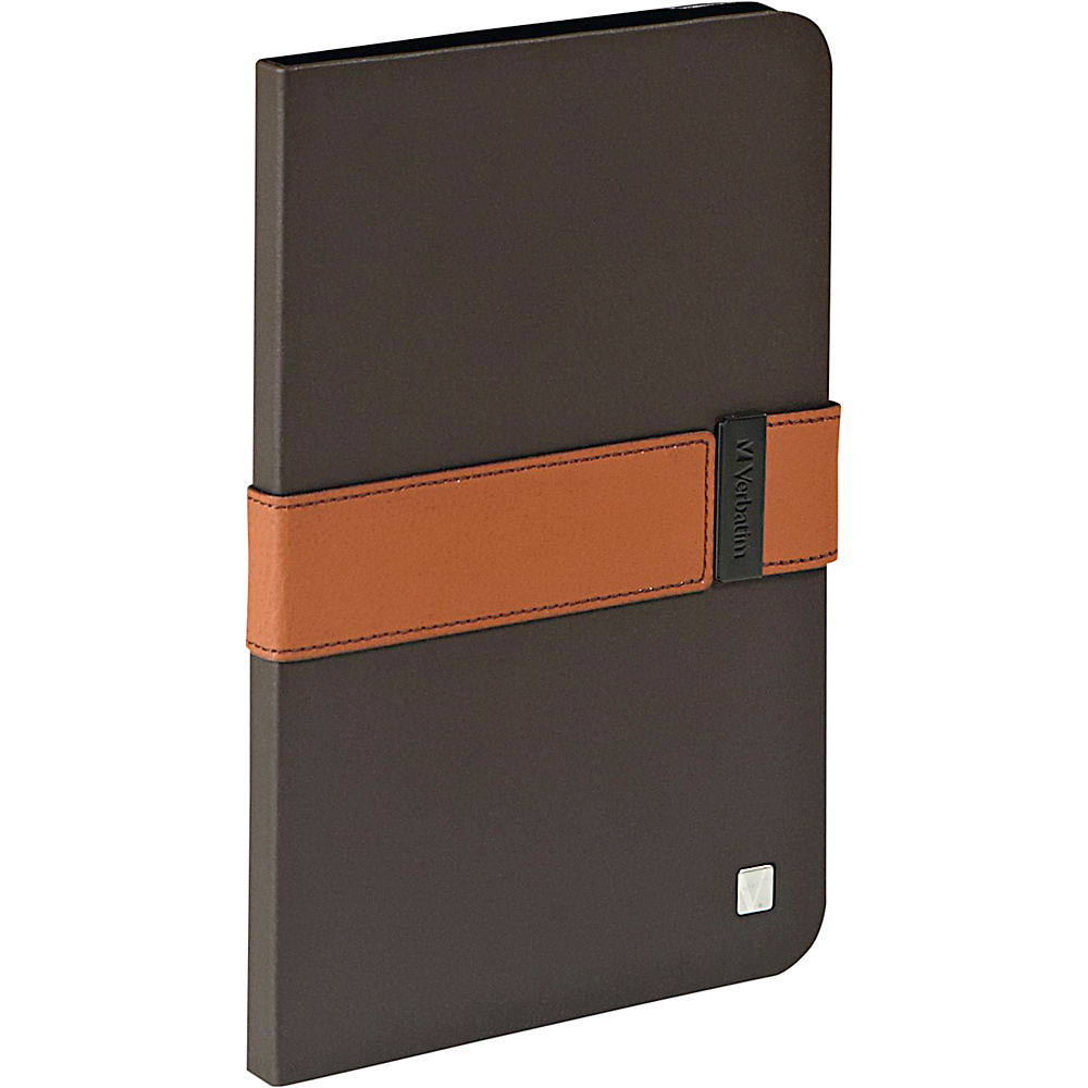 Verbatim Folio Signature for iPad Mini and iPad mini with Retina Display Mocha Tan Verbatim Electronic Cases