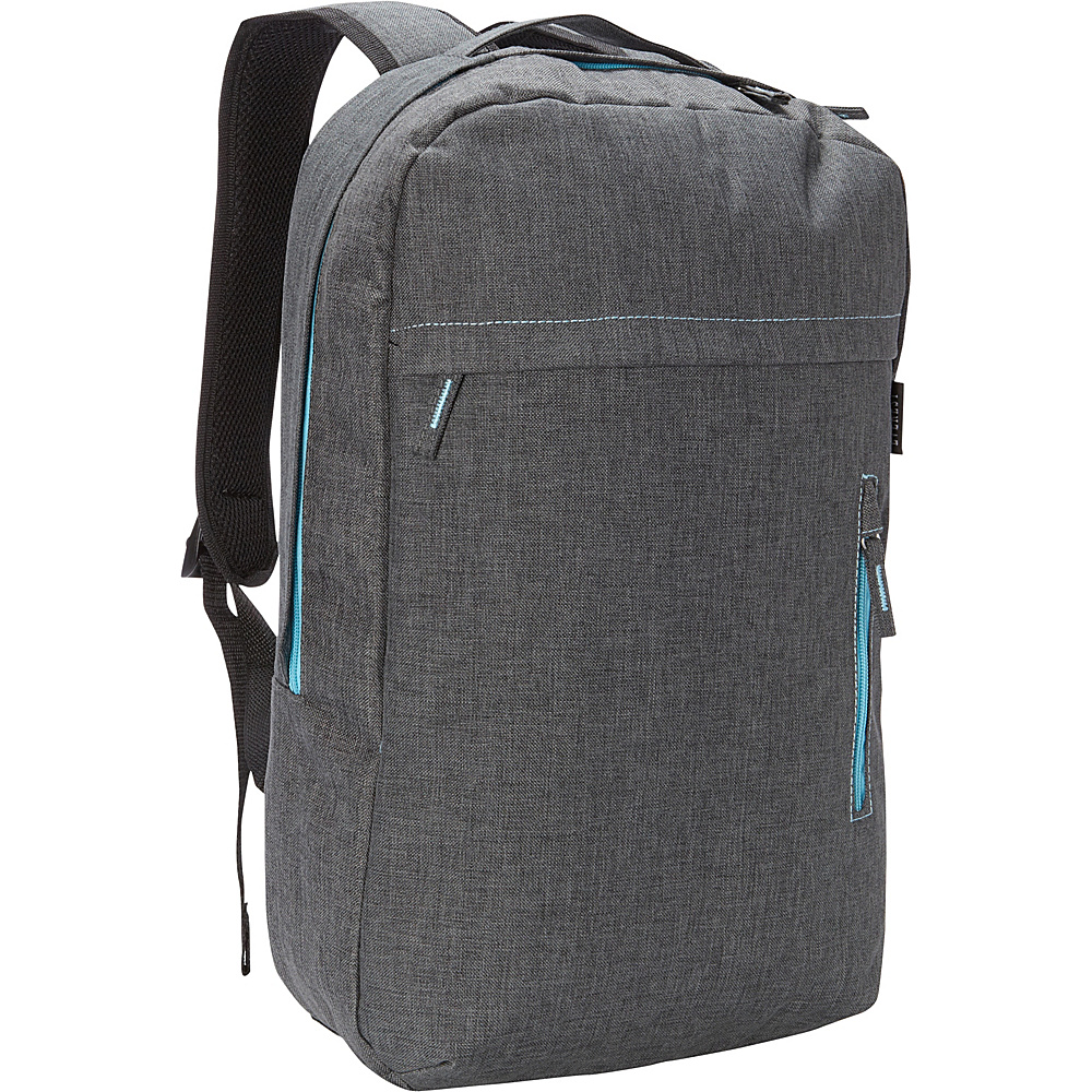 Everest Trendy Lightweight Laptop Backpack Charcoal Everest Business Laptop Backpacks