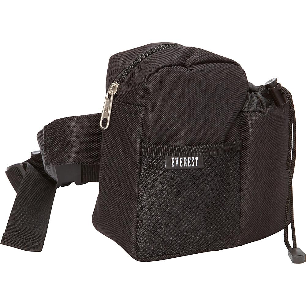 Everest Waist Bottle Pack Black - Everest Waist Packs - Backpacks, Waist Packs