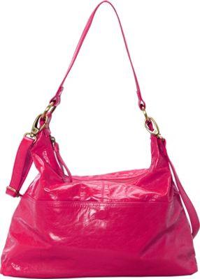 Latico Leathers Roberta Hobo Fuchsia - Latico Leathers Leather Handbags