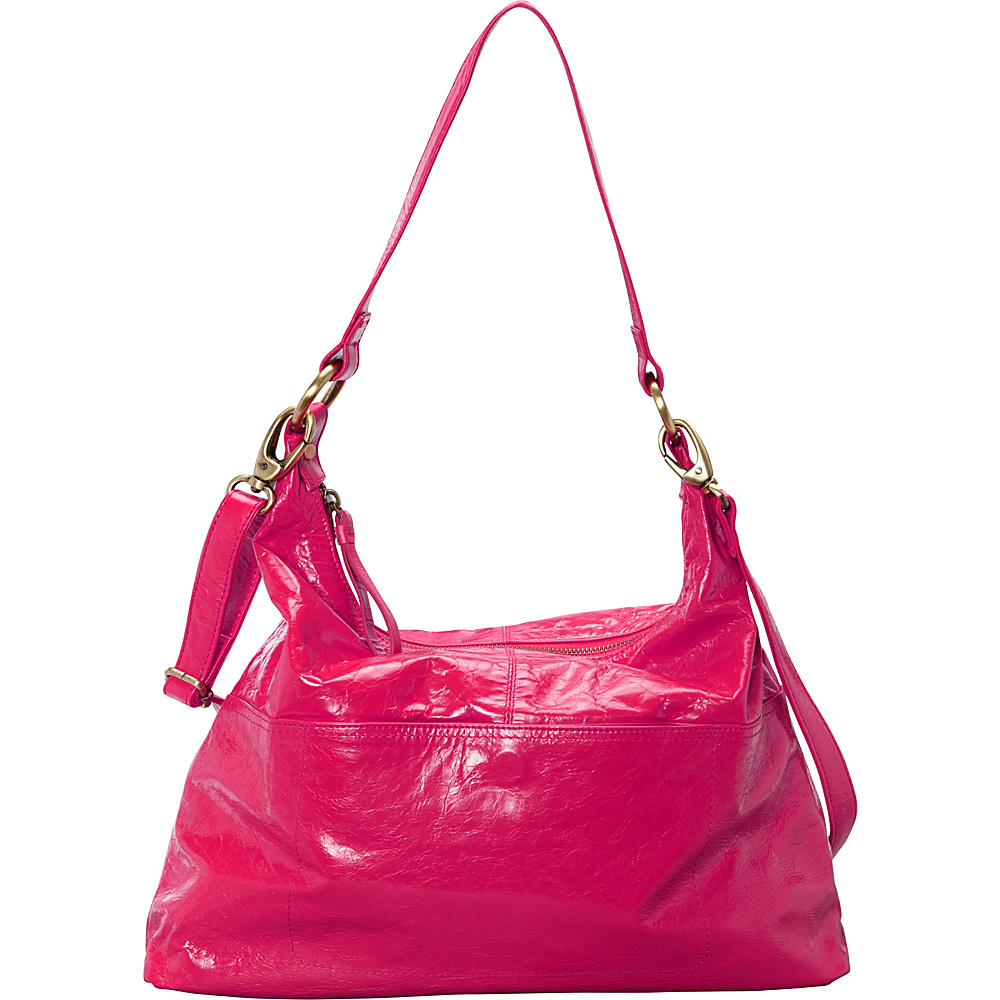 Latico Leathers Roberta Hobo Fuchsia - Latico Leathers Leather Handbags - Handbags, Leather Handbags