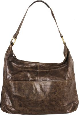 Latico Leathers Roberta Hobo Crunch Olive - Latico Leathers Leather Handbags