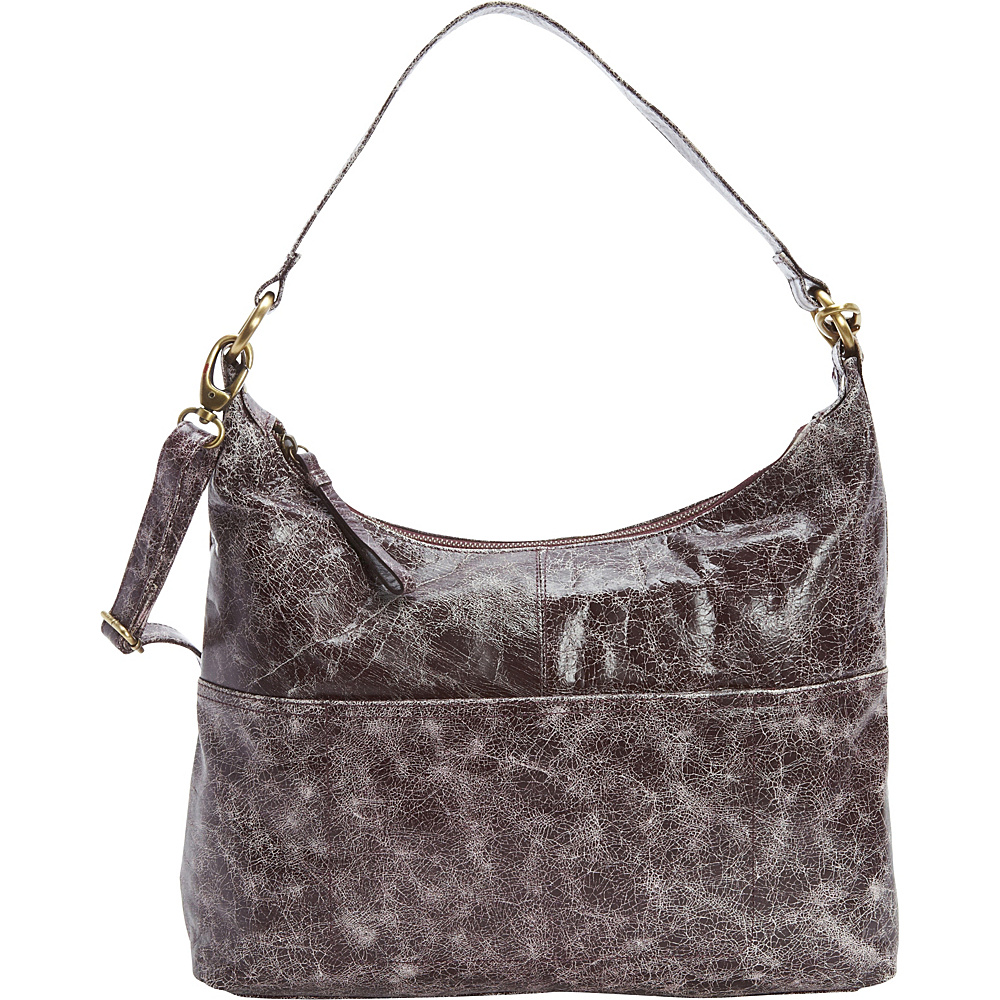 Latico Leathers Roberta Hobo Astro Purple - Latico Leathers Leather Handbags - Handbags, Leather Handbags