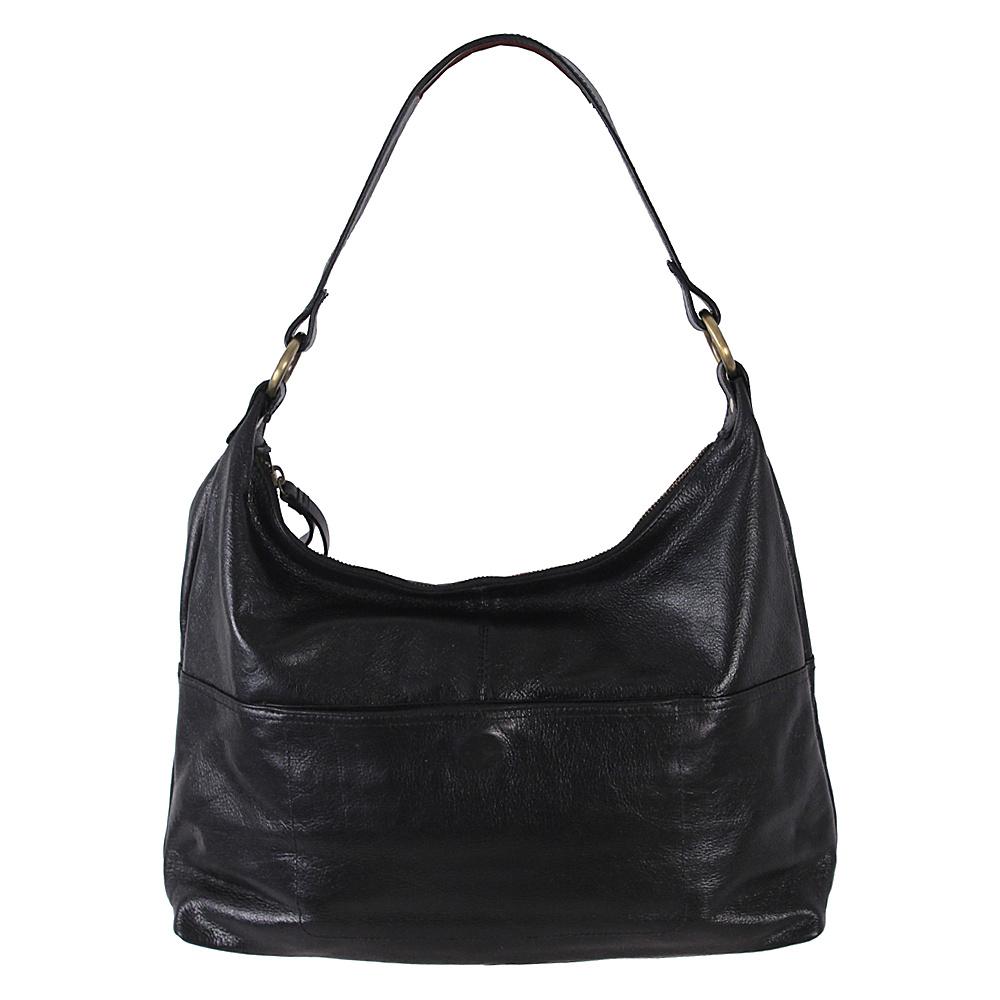 Latico Leathers Roberta Hobo Black - Latico Leathers Leather Handbags - Handbags, Leather Handbags