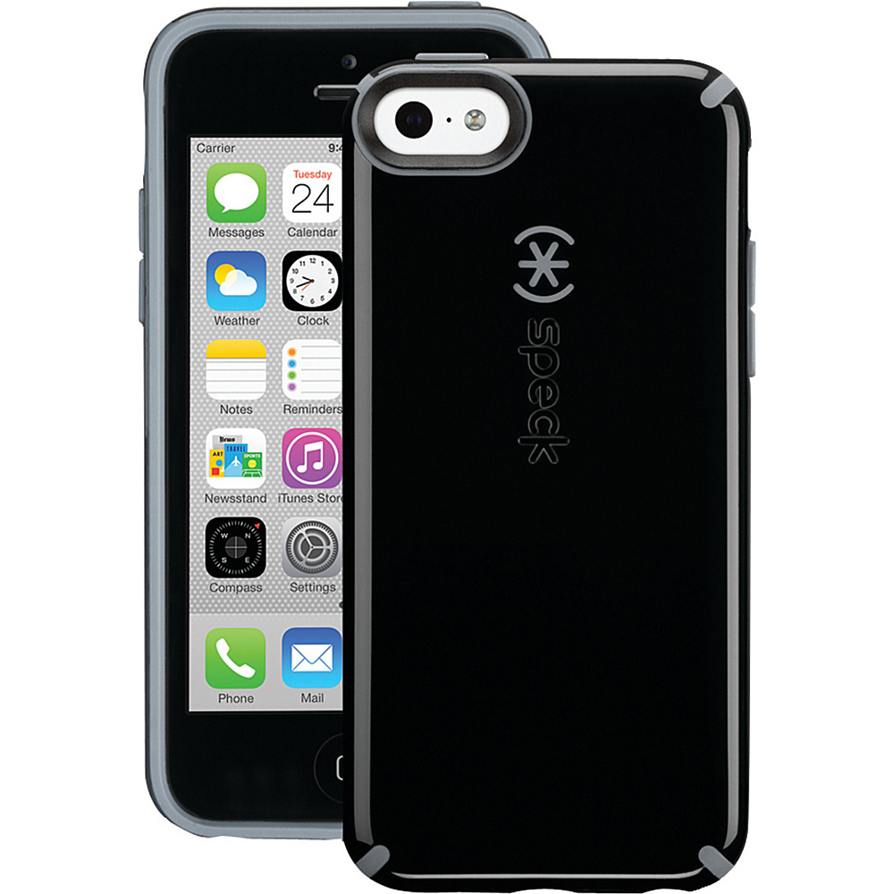 Speck iPhone r 5c Candyshell Case Black Slate Speck Electronic Cases