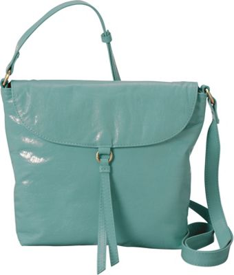 Latico Leathers Sky Crossbody Bag Mint - Latico Leathers Leather Handbags