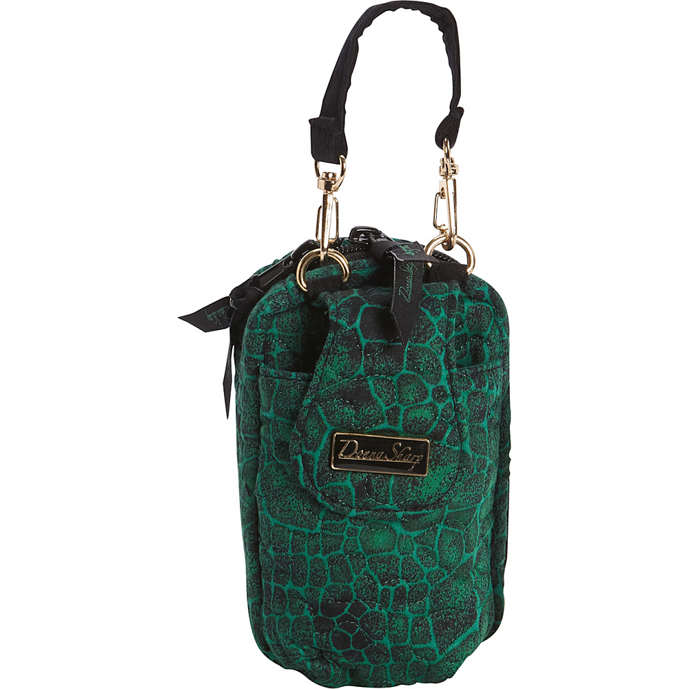 Donna Sharp Cell Phone Purse - Quilted Jade - Donna Sharp Fabric Handbags