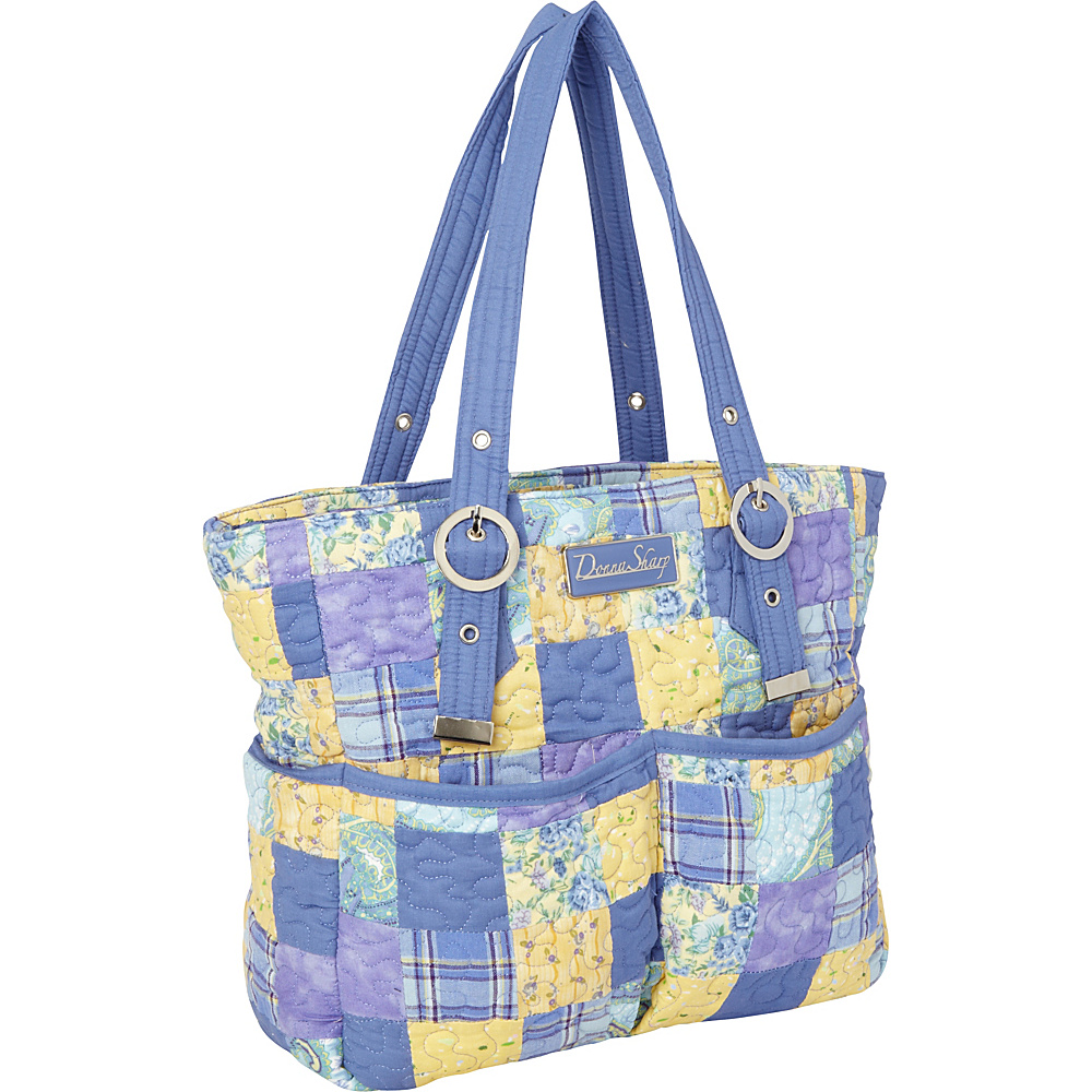 Donna Sharp Elaina Bag - Quilted Lemon Drop - Donna Sharp Fabric Handbags