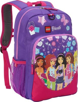 LEGO LEGO Heritage Classic Backpack Friends Kaleidoscope Purple - LEGO Everyday Backpacks