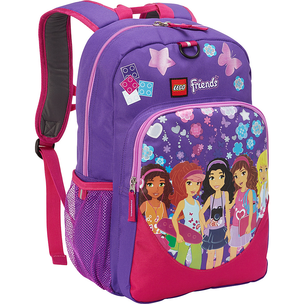 LEGO Heritage Classic Backpack Friends Kaleidoscope Purple LEGO Everyday Backpacks