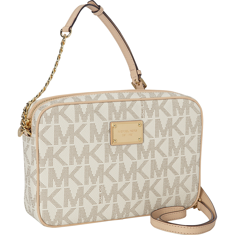 Upc 888235212807 Michael Kors Jet Set Leather Large East Jetset Travel Lugagge Authentic Product Image For 18k E W Crossbody