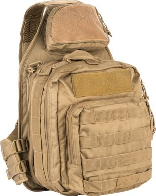 Red Rock Outdoor Gear Recon Sling Bag Coyote Tan - Red Rock Outdoor Gear Tactical