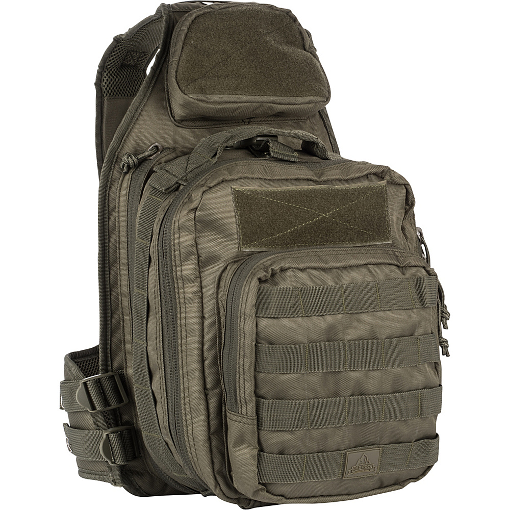 Red Rock Outdoor Gear Recon Sling Bag Olive Drab - Red Rock Outdoor Gear Slings