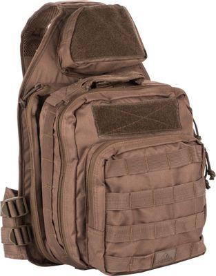 Red Rock Outdoor Gear Recon Sling Bag Dark Earth - Red Rock Outdoor Gear Tactical