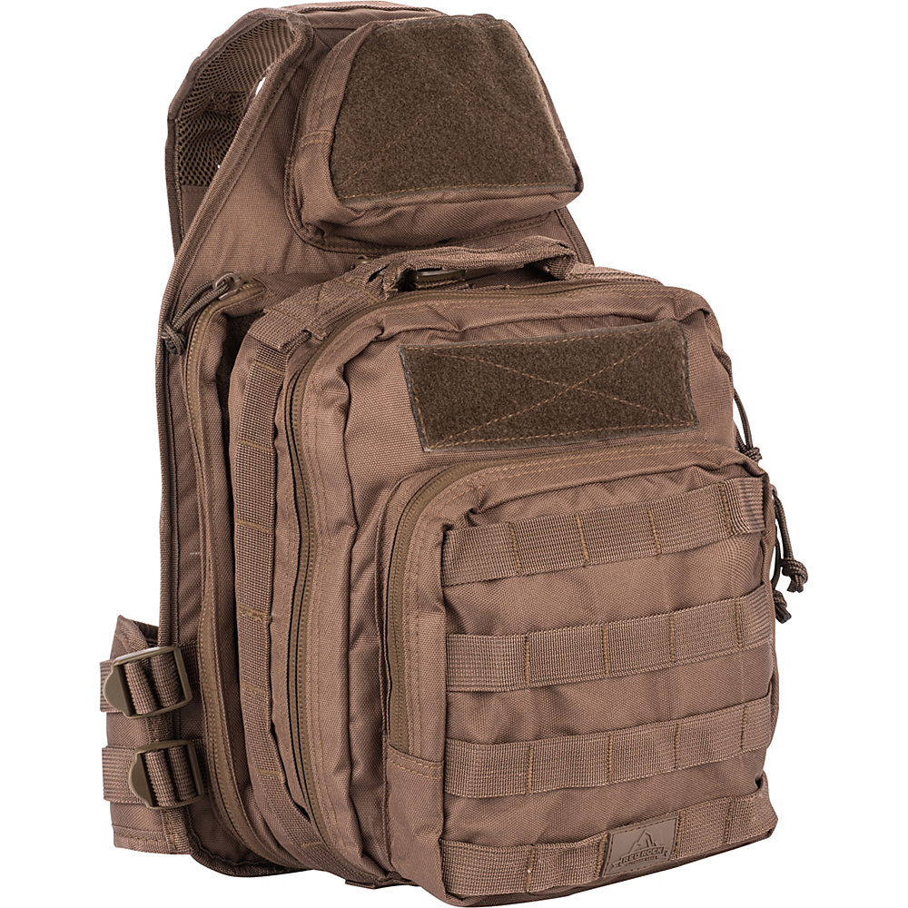 Red Rock Outdoor Gear Recon Sling Bag Dark Earth - Red Rock Outdoor Gear Tactical