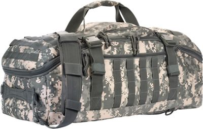 Red Rock Outdoor Gear Red Rock Outdoor Gear Traveler Duffle Bag ACU Camouflage - Red Rock Outdoor Gear Outdoor Duffels