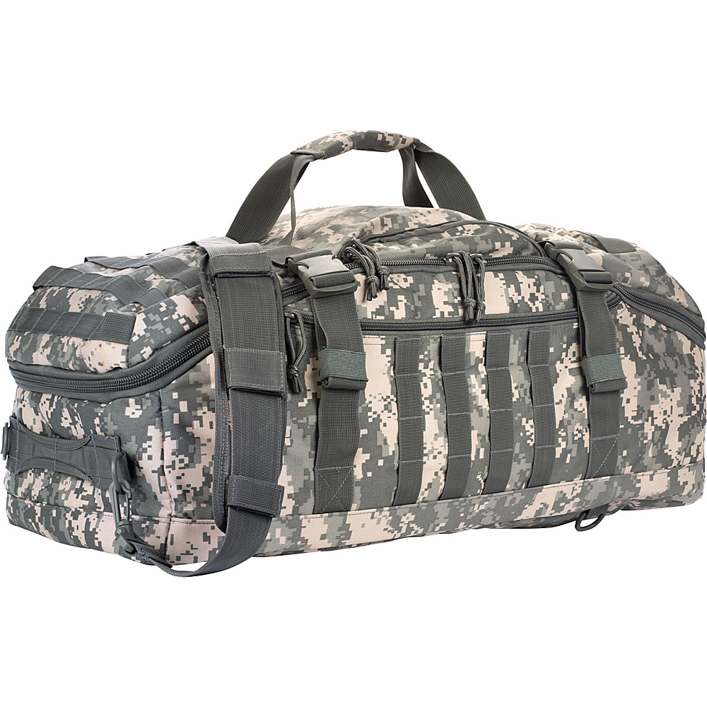 Red Rock Outdoor Gear Traveler Duffle Bag ACU Camouflage Red Rock Outdoor Gear Outdoor Duffels