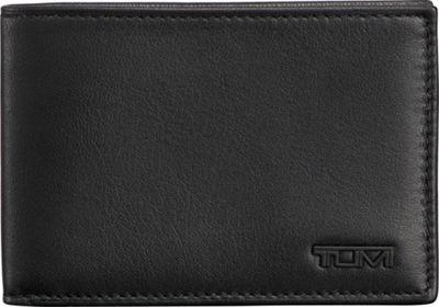 Tumi Delta Slim Single Billfold Black - Tumi Men's Wallets