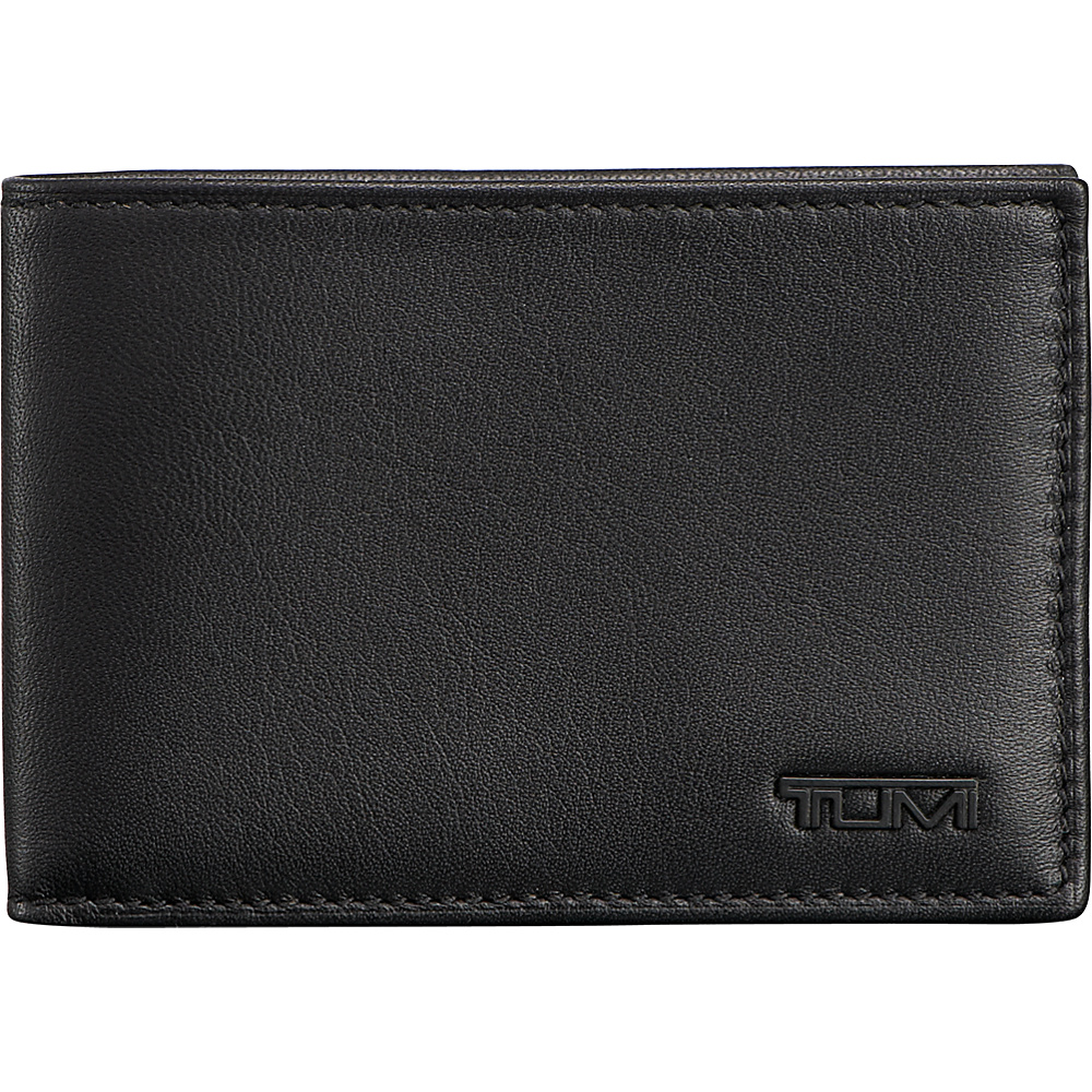 Tumi Delta Slim Single Billfold Black - Tumi Mens Wallets - Work Bags & Briefcases, Men's Wallets