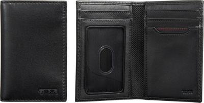 Tumi Delta Multi Window Card Case Black - Tumi Men's Wallets
