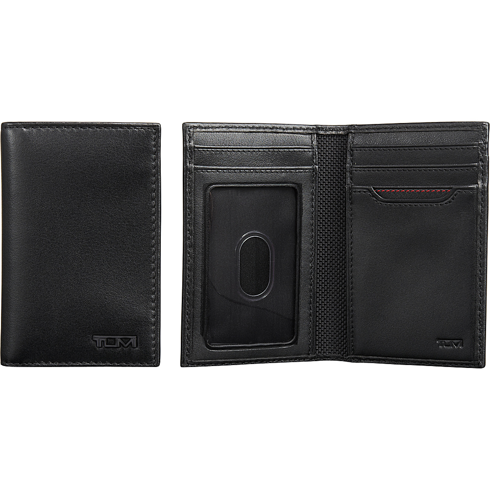 Tumi Delta Multi Window Card Case Black - Tumi Mens Wallets - Work Bags & Briefcases, Men's Wallets