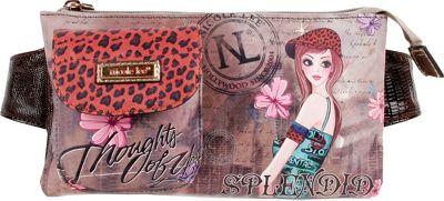 Nicole Lee Muneca Print Fanny Pack TINA - Nicole Lee Waist Packs
