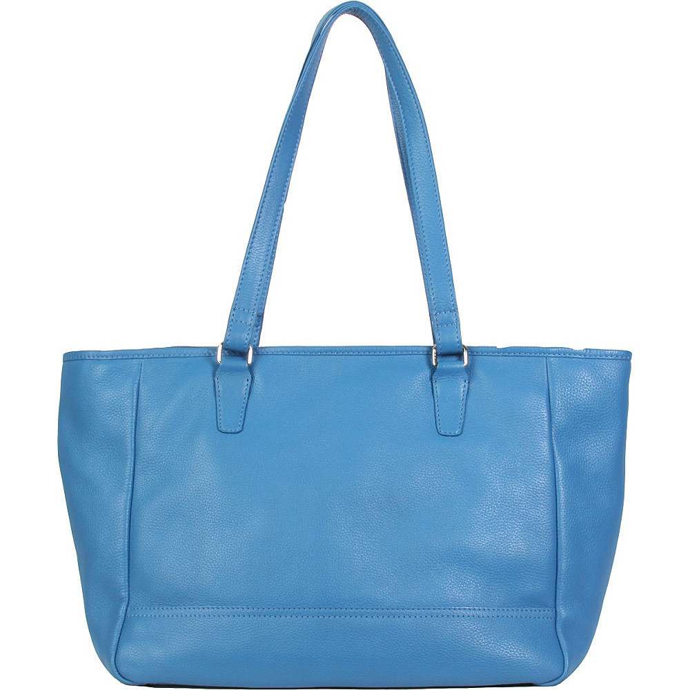 Hadaki Cosmopolitan Tote Deep Water - Hadaki Leather Handbags - Handbags, Leather Handbags