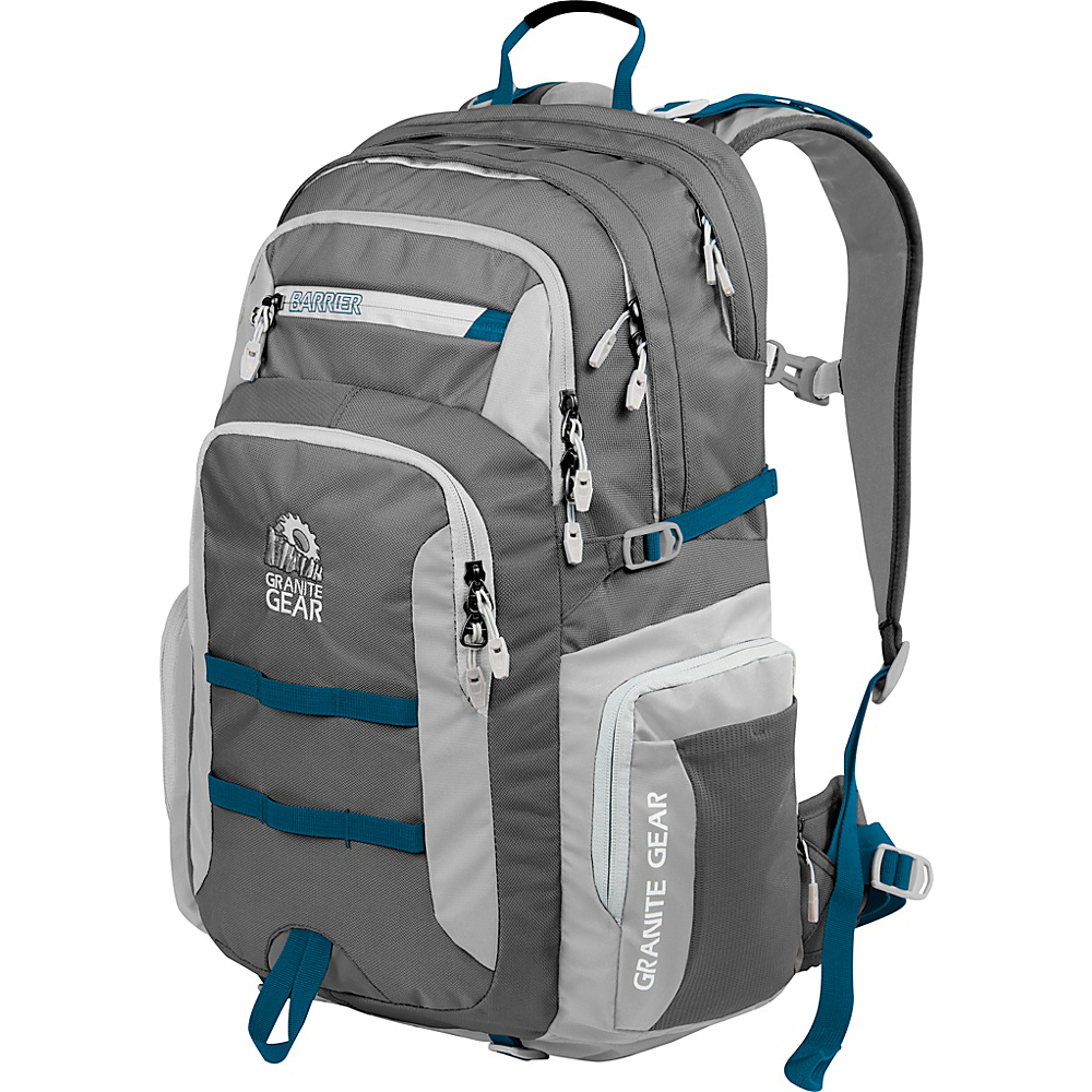 Granite Gear Superior Laptop Backpack Flint Chromium Bluemine Granite Gear Business Laptop Backpacks