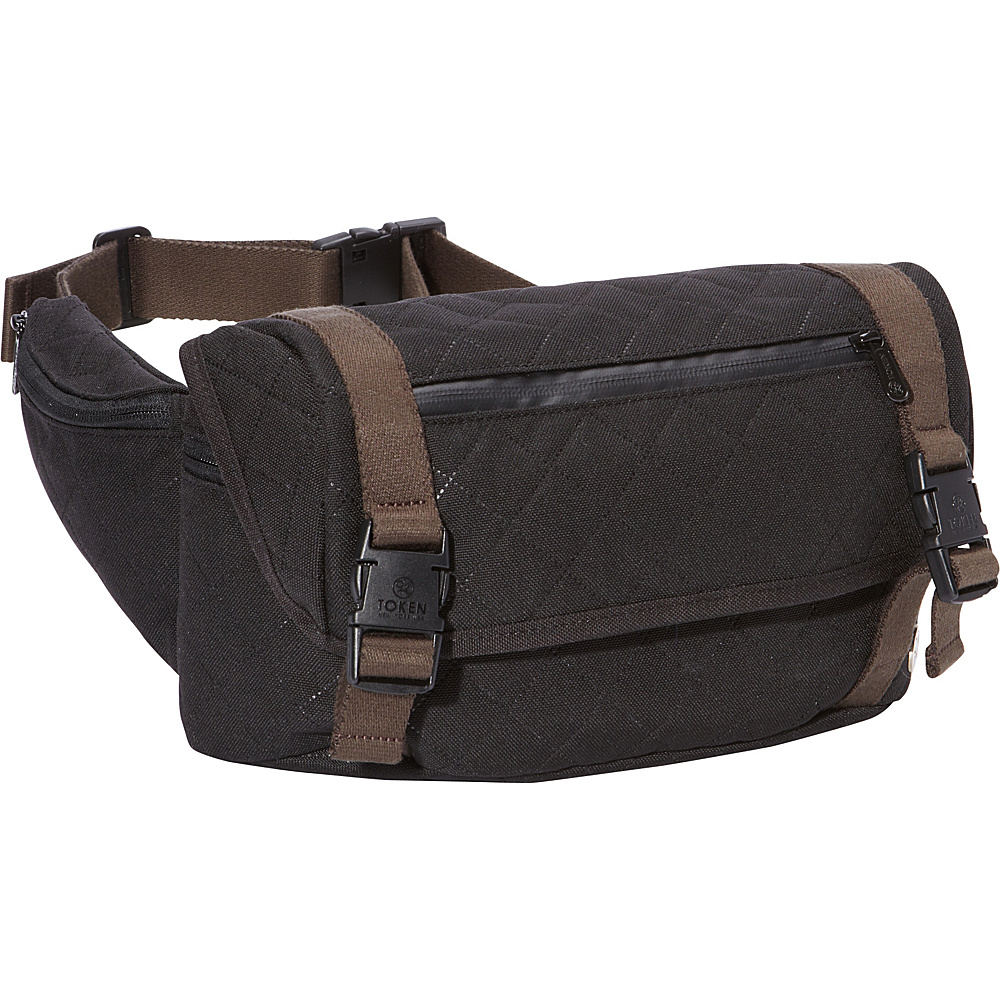 TOKEN Lorimer Quilted Waist Bag Black TOKEN Waist Packs